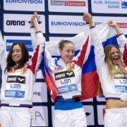 Пловчихи из России установили рекорд в ходе эстафеты на Европейском чемпионате