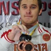 чемпион мира Дмитрий Хомяков