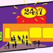 9 круглосуточных магазинов осталось в ижевске