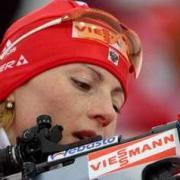 Первое место в спринтерской гонке на «Ижевской винтовке» заняла Анна Кунаева