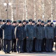 На Центральной площади Ижевска прошел строевой смотр полиции